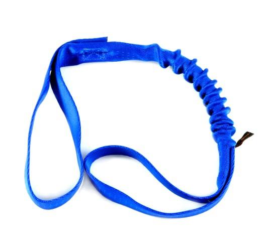 Bungee Handle Hundespielzeug zum Zergeln in Blau