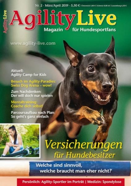AgilityLive Ausgabe 02/2019 Hundesportmagazin