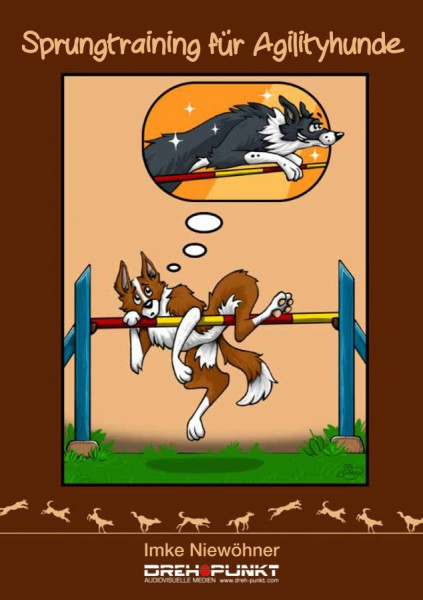 Sprungtraining für Agilityhunde Buch von Imke Niewöhner