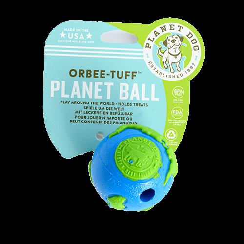 Orbee Tuff™ Planet Ball grün-blau