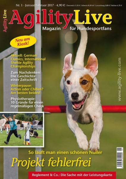 AgilityLive Ausgabe 01/2017 Hundesportmagazin