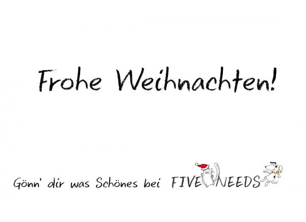 50,- EUR Geschenkgutschein Weihnachtsmotiv
