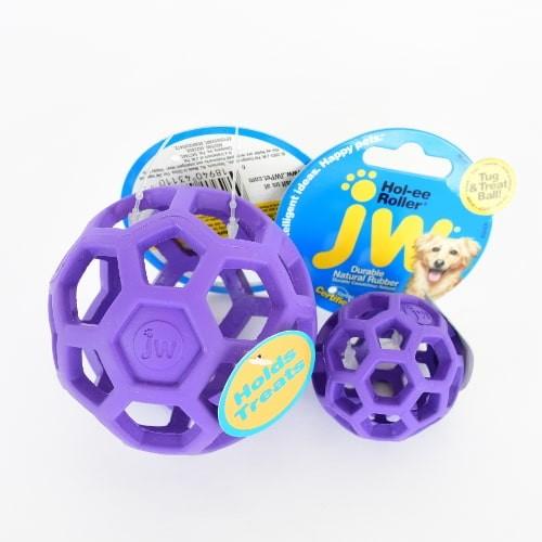 JW Hol-ee Roller Gitterball für Hunde violett