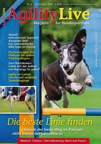 AgilityLive Ausgabe 04/2018 Hundesportmagazin