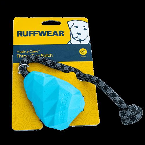 Ruffwear Huck-a-Cone™ Hundespielzeug blau in Größe S