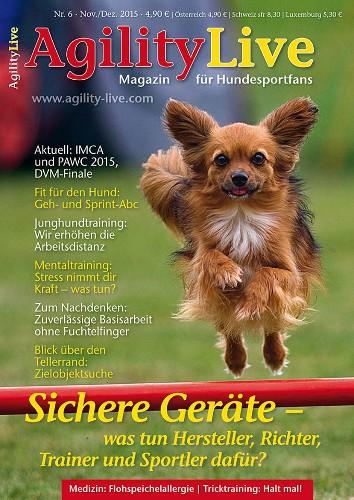 Hundesportmagazin AgilityLive Ausgabe 06/2015