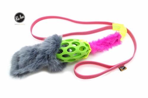 Ke-hu Power M Hundespielzeug grün/pink