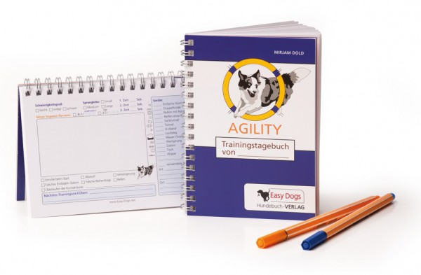 Agility Trainingstagebuch von EasyDogs