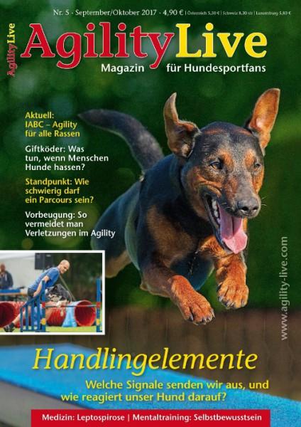 AgilityLive Ausgabe 05/2017 Hundesportmagazin für Agility-Fans