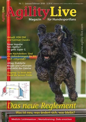 Hundesportmagazin AgilityLive 01/2018